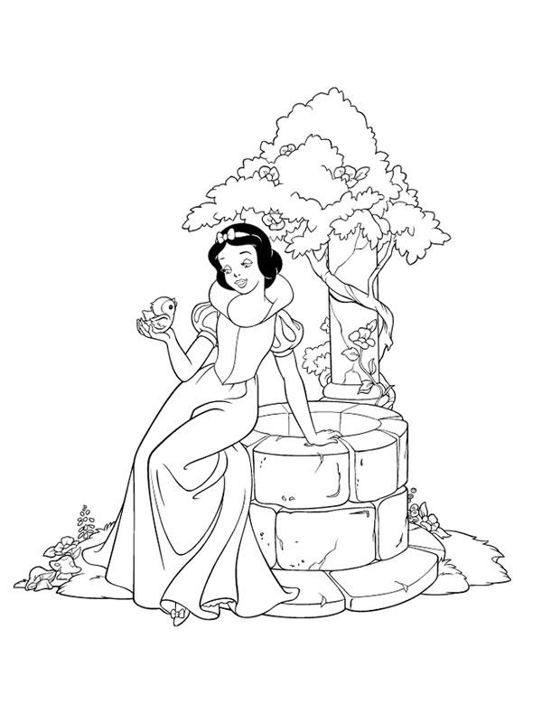 coloriages princesses divers