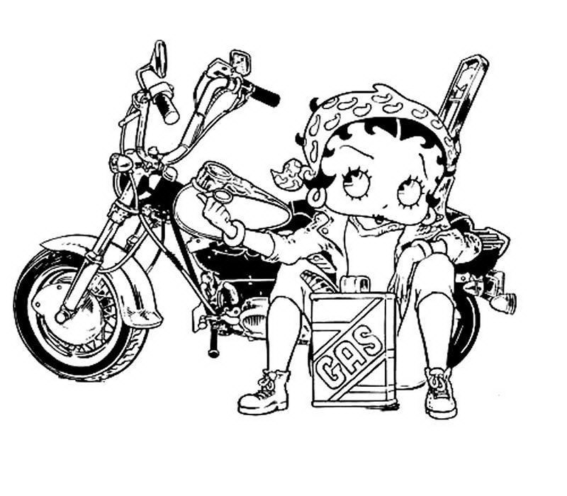 coloriages Betty Boop - Page 2