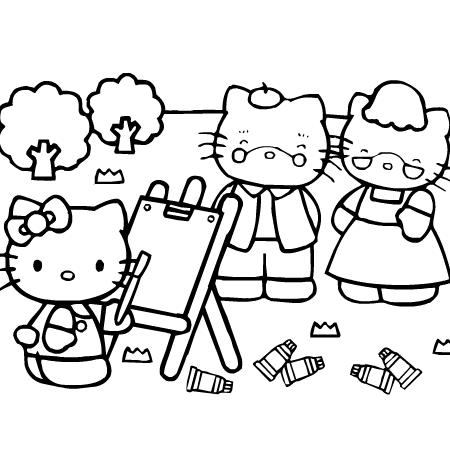 Dessin hello kitty noel - Kitty noel coloriage ...