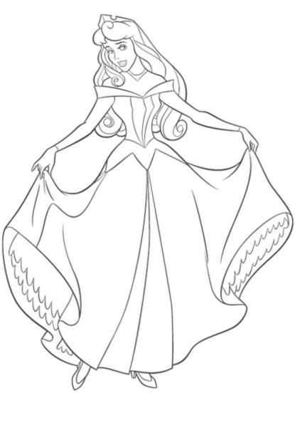 Coloriages princesses divers page 3 - Princesse disney a colorier ...