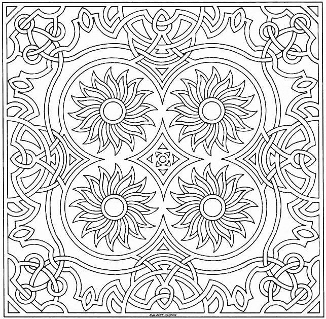 coloriages ( mandalas )