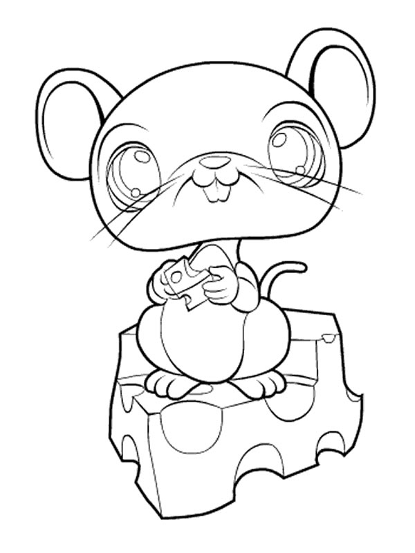 coloriages ( petshop )